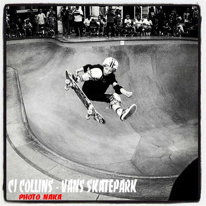 CJ Collins Vans Skatepark - Orange, California
