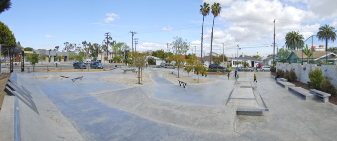 long beach skate plaza