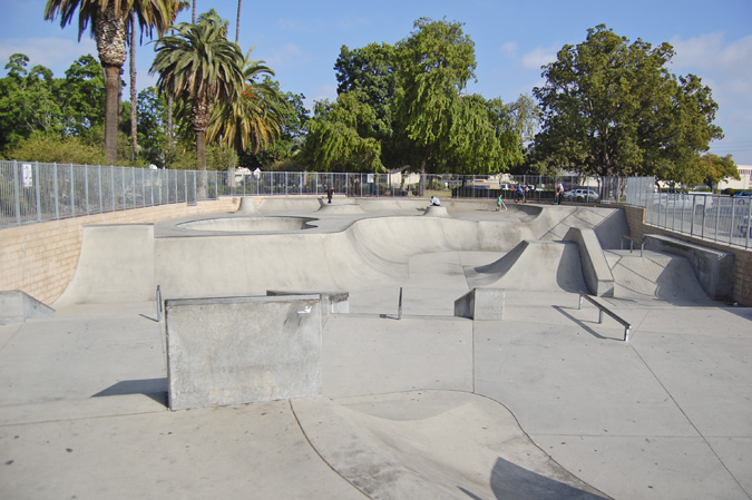 anahiem west skatepark sadlands