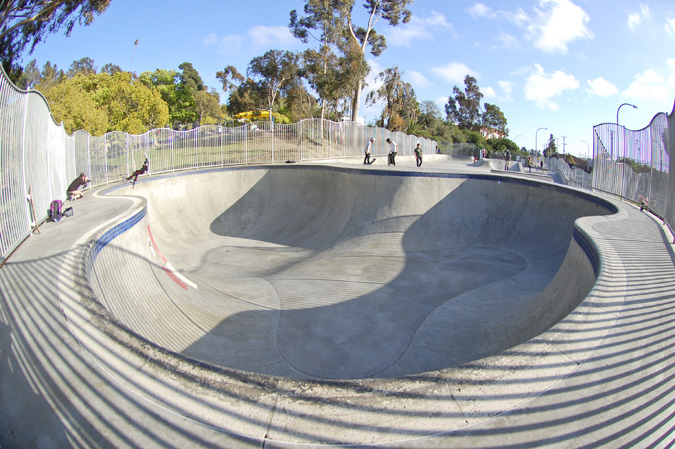 culver city skatepark pool