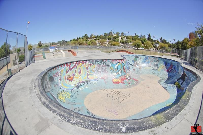 Los Angeles Garvanza Skatepark