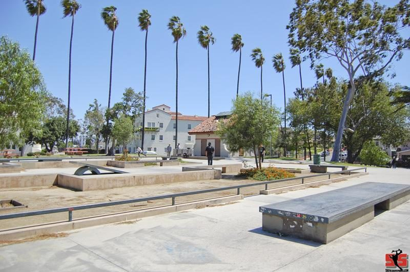 Boyle Heights Hollenbeck Skate Plaza