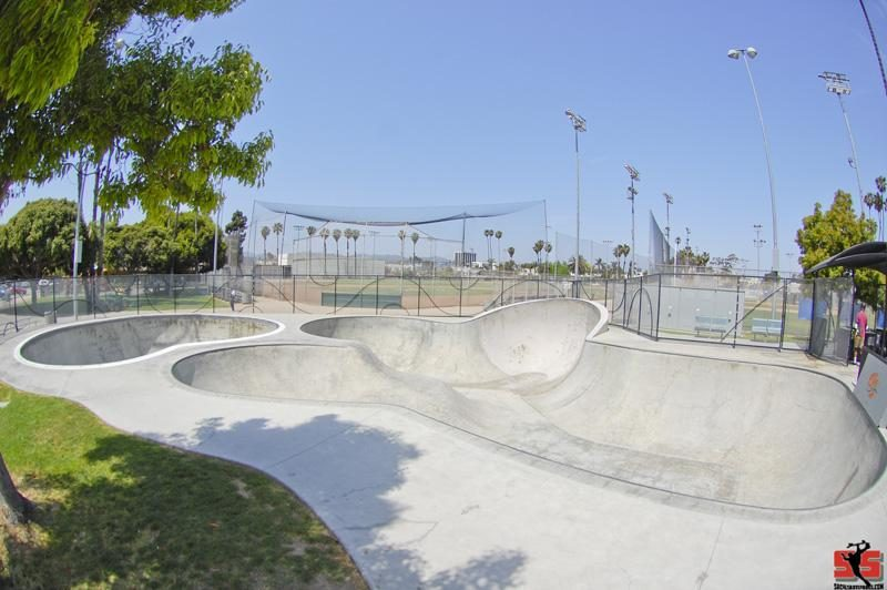 Santa Monica Skatepark The Cove